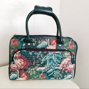 Vintage Tapestry Travel Bag